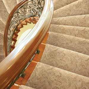 Damask 235 Close-Up Staircase